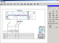 配水管、給水管の図形編集